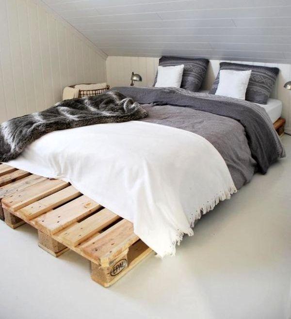 Кровать своими руками основание под матрас из поддонов