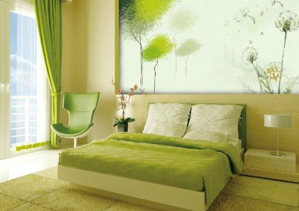 Яркая спальня для спокойных снов