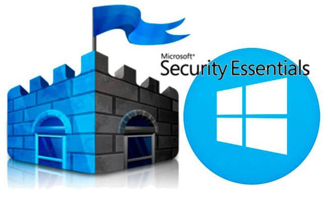 Встроенное антивирусное ПО Security Essentials