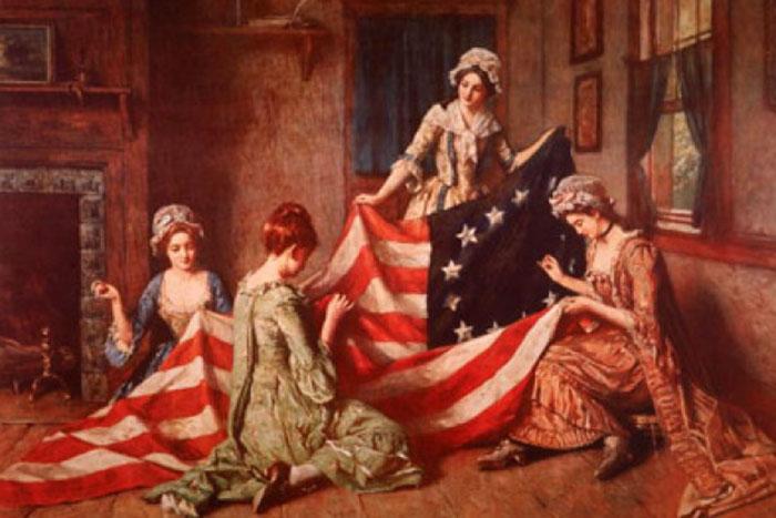 Флаг Бетси Росс.