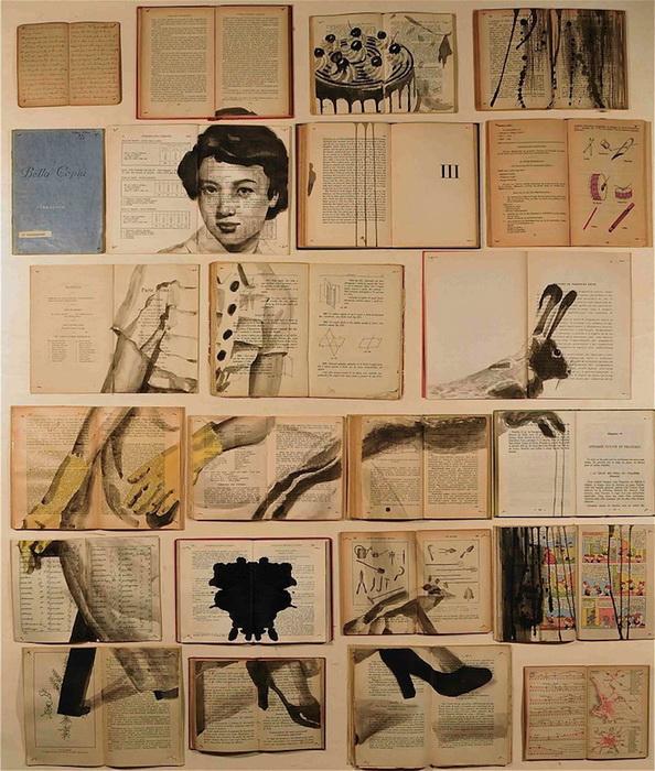 Картины на страницах старых книг: творчество Екатерины Паникановой