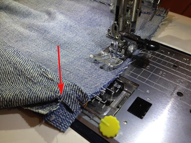 Лоскутный плед из джинсов 131
