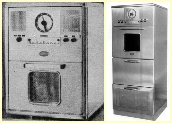 Первая микроволновая печь / Фото: technosova.ru