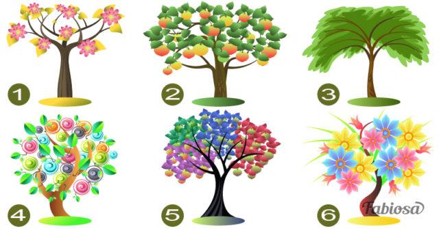 Цветовой тест: Выберите дерево и узнайте, какие перемены готовит вае подсознание!