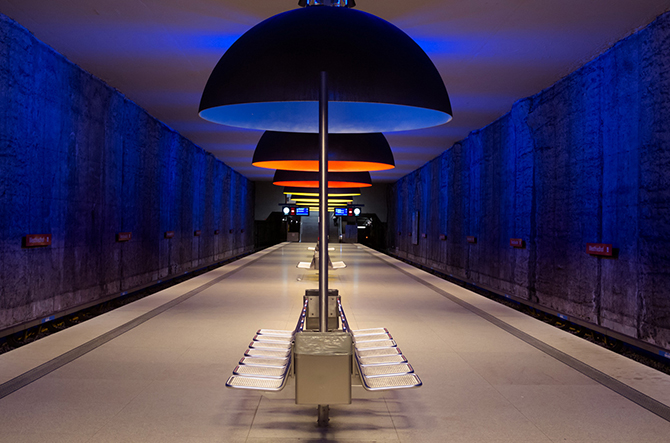 10 станций метро с самым неординарным интерьером