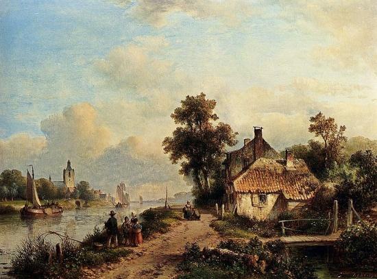 художник Лодевейк Йоханнес Клейн (Lodewijk Johannes Kleijn) картины – 03