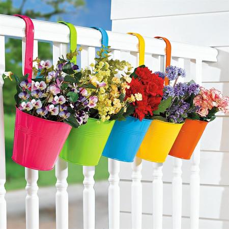 16 очаровательных сезонных идей для сада на балконе фото 9