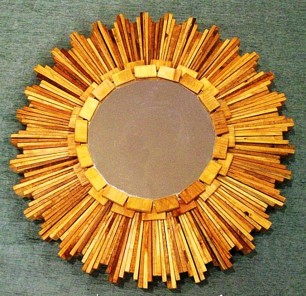 декорирование зеркала в стиле арт-деко