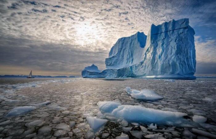 Типичный пейзаж Гренландии