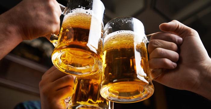 Пиво приносит пользу.