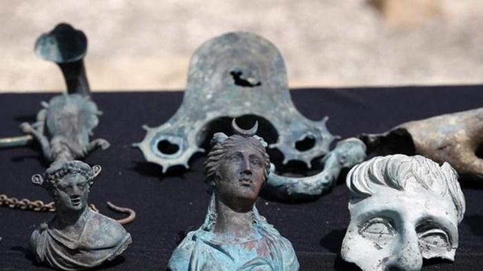 Бесценные артефакты римской эпохи.