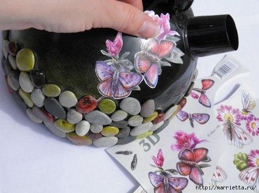 Новая жизнь старого чайника. Кашпо для цветов