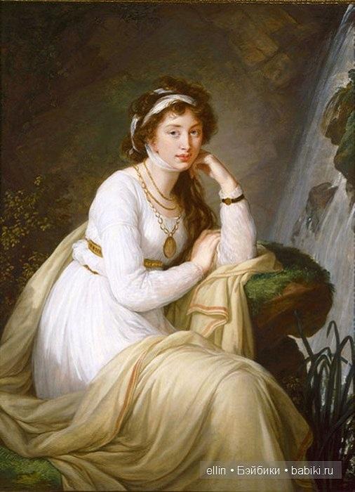 Сестра камергера князя И. И. Барятинского, жена гофмаршала Н. А. Толстого.