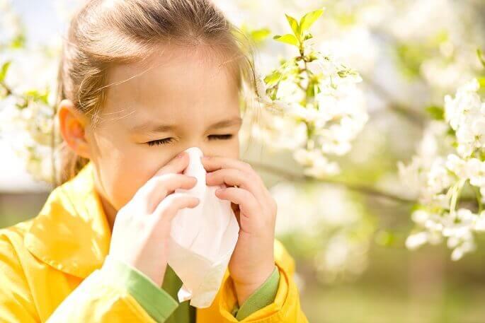 Дети страдают от аллергии так же часто, как и взрослые