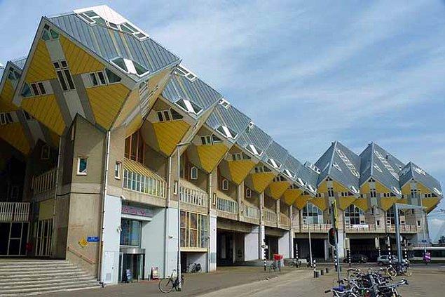 Кубические дома (Роттердам, Нидерланды)