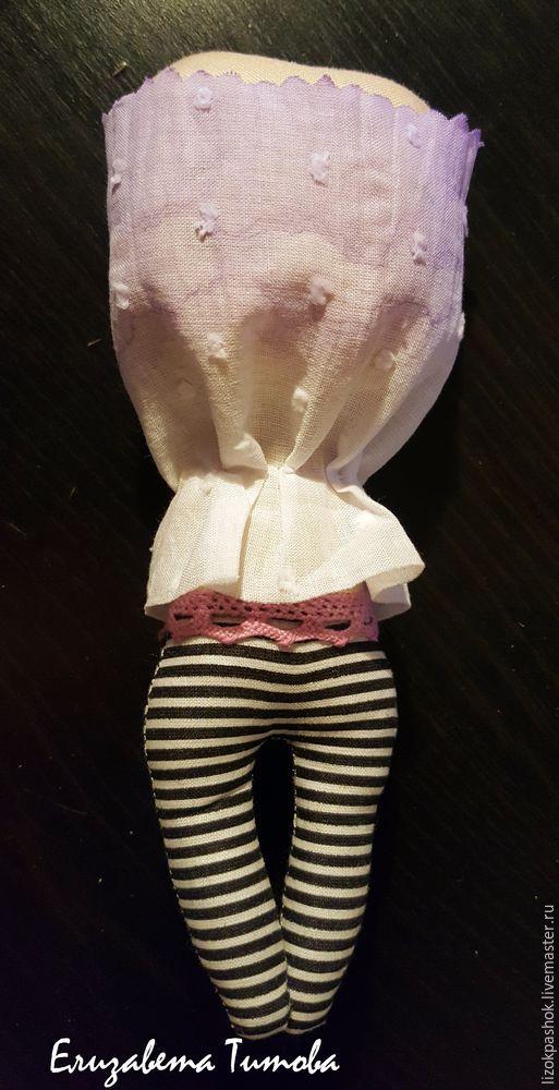 Шьем куколку «лавандовый мотылек» из обрезков ткани, фото № 9