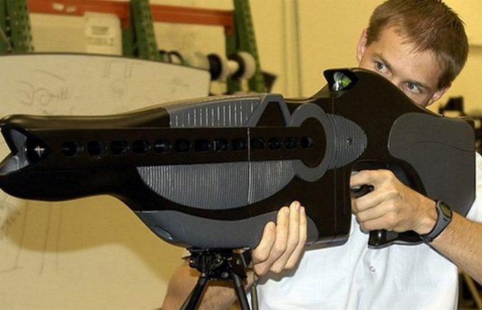 Футуристическое оружие: PHASR.