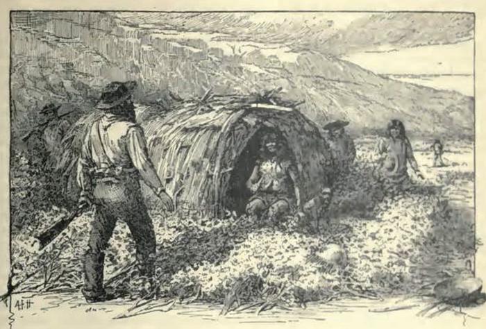 Рисунок Джеймса Гиббонса по описанию очевидцев.
