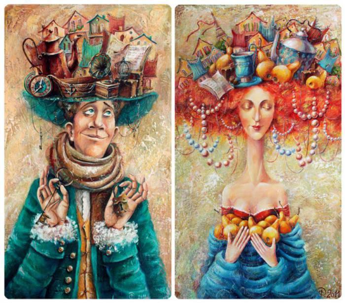 Мысли мужские, мысли женские. Автор: Яна Фефелова.