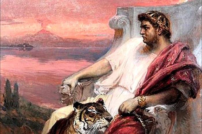 Император Нерон.