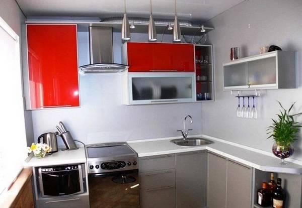 идеи дизайна маленькой кухни, фото 11