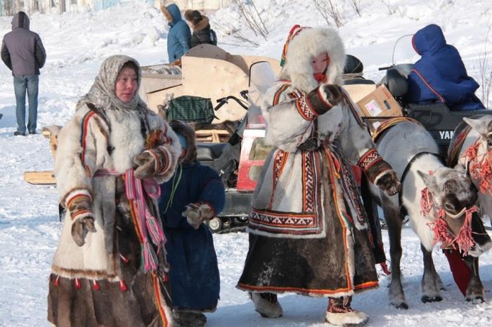 Ненцы для очистки тела надевали одежду наизнанку. /Фото: sentstory.ru