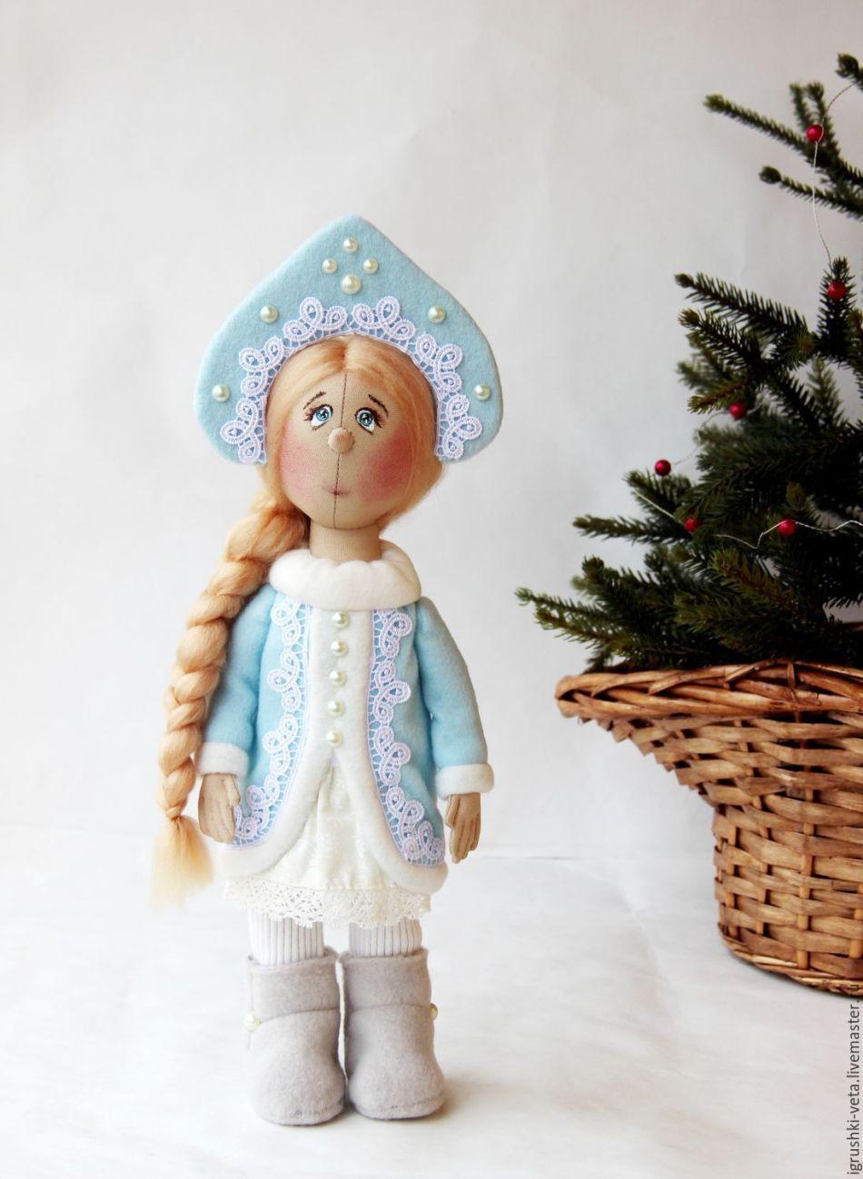 Как сшить снегурочку куклу своими руками 317