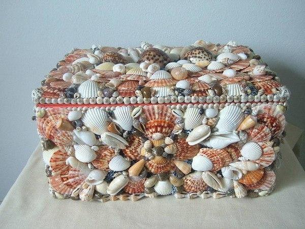 Что можно сделать из морской ракушки