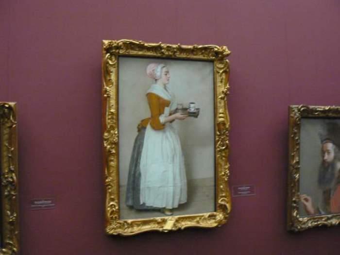 *Шоколадница* Лиотара в Дрезденской галерее. Фото: Интернет