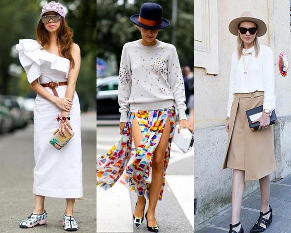 Уличная мода весна-лето 2015: Модные головные уборы