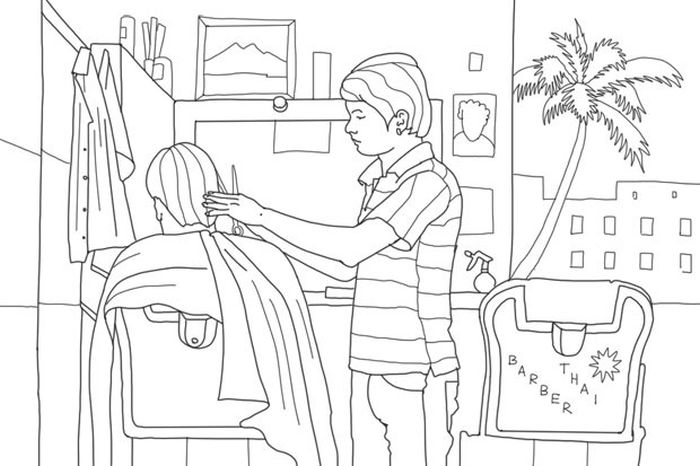 как все устроено, работа, парикмахер