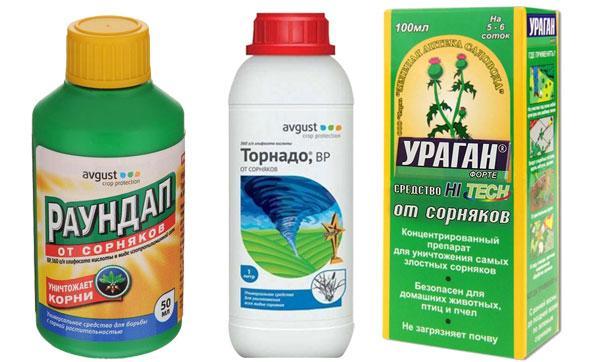препараты против сорняков