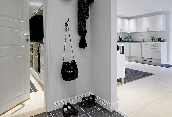 Интерьер прихожей однокомнатной квартиры
