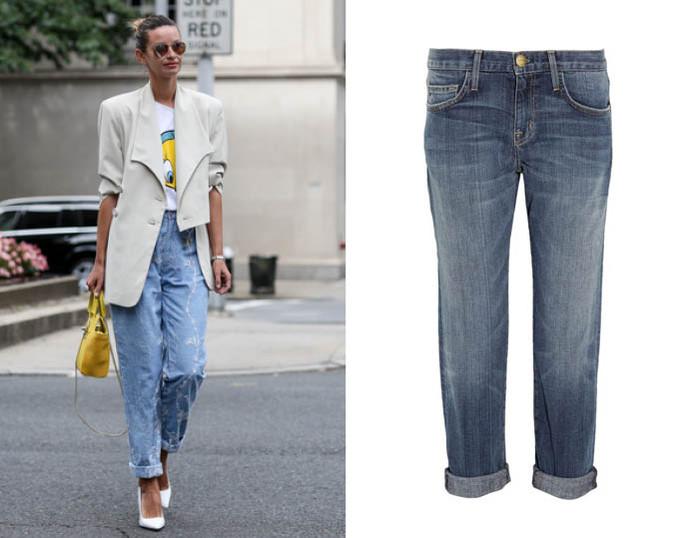 Бойфренд-джинсы