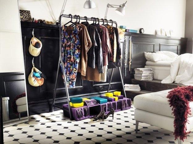 Найдите идеальное место для одежды