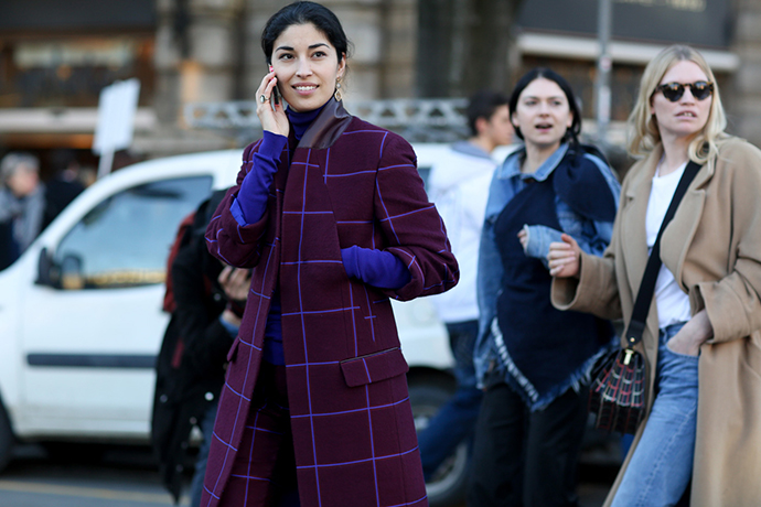пальто, модные пальто 2014, что носить зимой, как носить пальто, уличный стиль, street style, coat