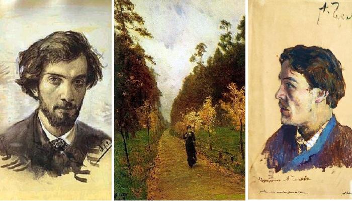 Исаак Левитан./«Осенний день. Сокольники». (1879)./ Николай Чехов.