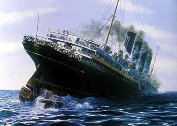 Пассажирский лайнер «Лузитания».