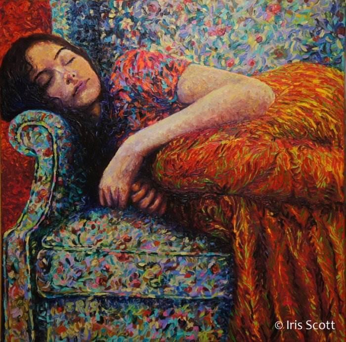 Сладкий сон. Автор: Iris Scott.