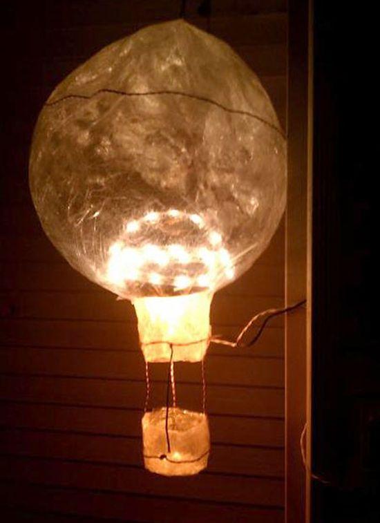 Dona S Воздушный шар Лучшие работы конкурса скульптур из скотча Off the Roll 2012