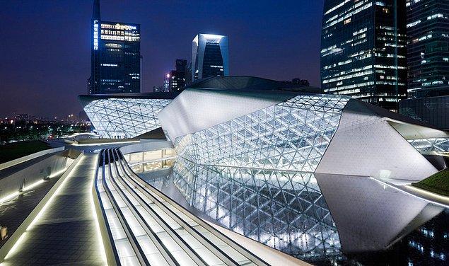 Оперный театр, Гуанчжоу, Китай