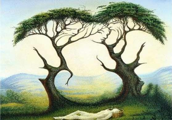 тест с деревьями