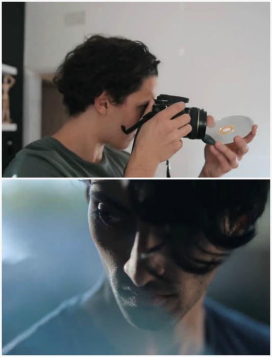 Фотографии с эффектом бликов.