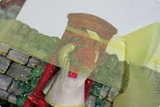 Декор предметов, Мастер-класс Декупаж: как соединить 2 салфетки м\к Салфетки Новый год. Фото 7