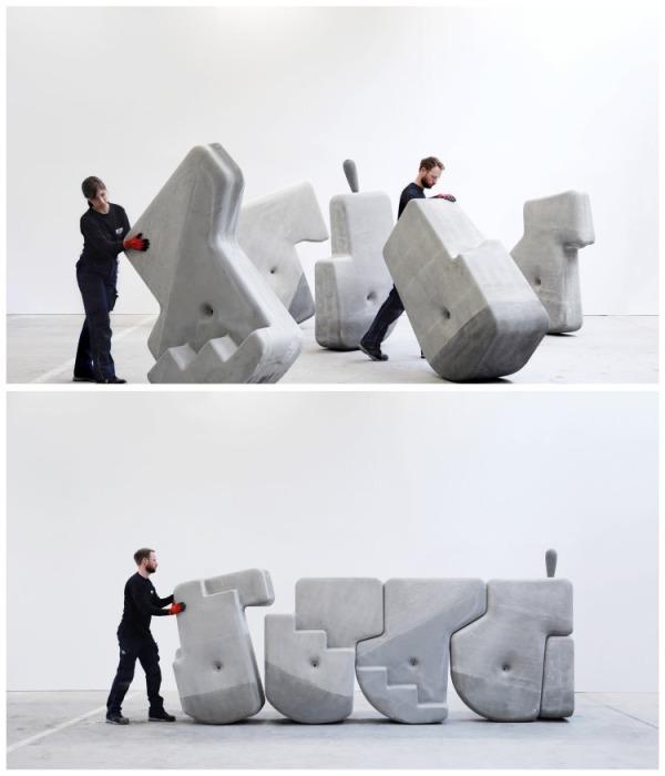 Если сбалансировать центр тяжести, то камень можно будет перекатывать без особых проблем