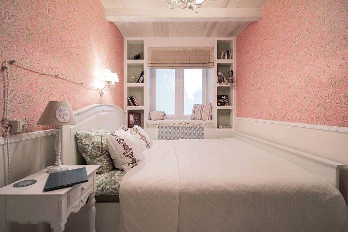 спальня в интерьере двухкомнатной хрущевки