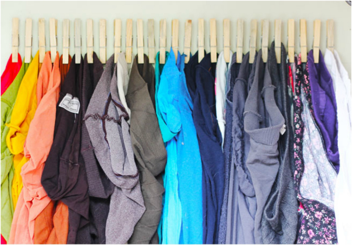 Хранение домашней одежды.