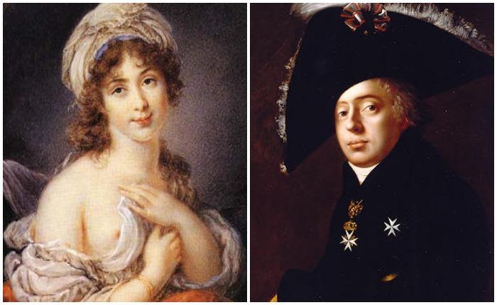 Елизавета и Николай Демидовы