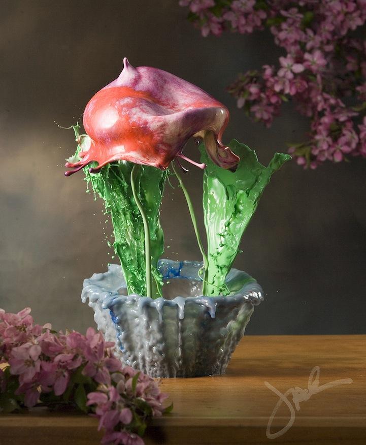 Liquid Potted Flowers 5 Жидкие комнатные цветы