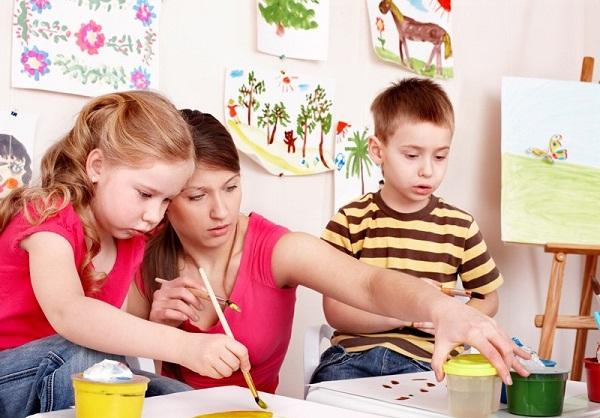 картинки для детей рисуют дети